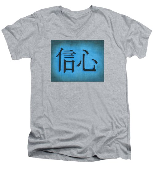 Faith Men's V-Neck T-Shirt