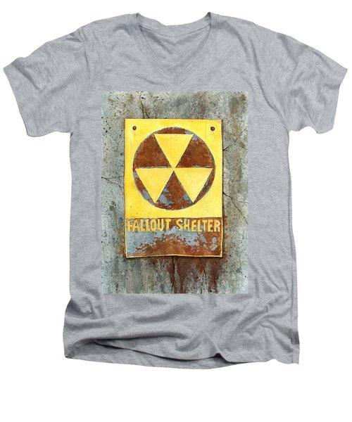 Fallout Shelter #2 Men's V-Neck T-Shirt