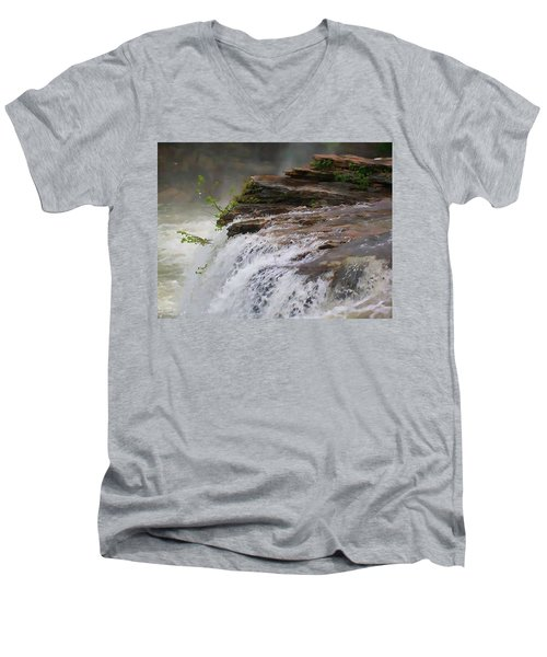 Falls Of Alabama Men's V-Neck T-Shirt
