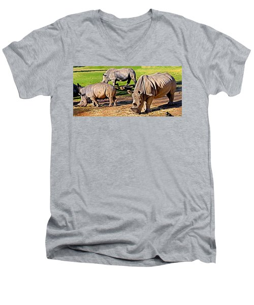 Family Feast Men's V-Neck T-Shirt