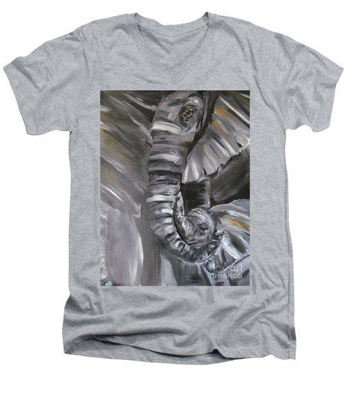 Family Men's V-Neck T-Shirt
