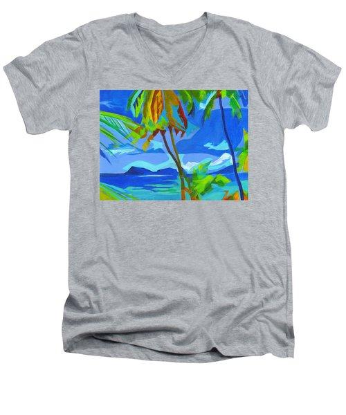 Dream Islands. Maui Men's V-Neck T-Shirt