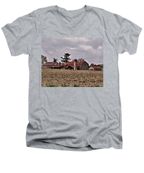 Farm 2 Men's V-Neck T-Shirt