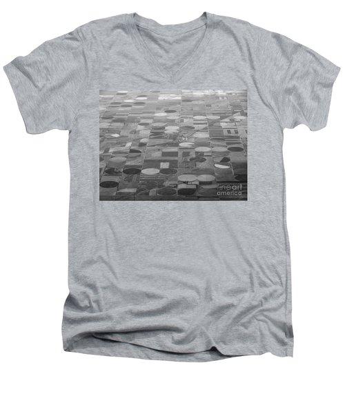 Farming In The Sky Men's V-Neck T-Shirt