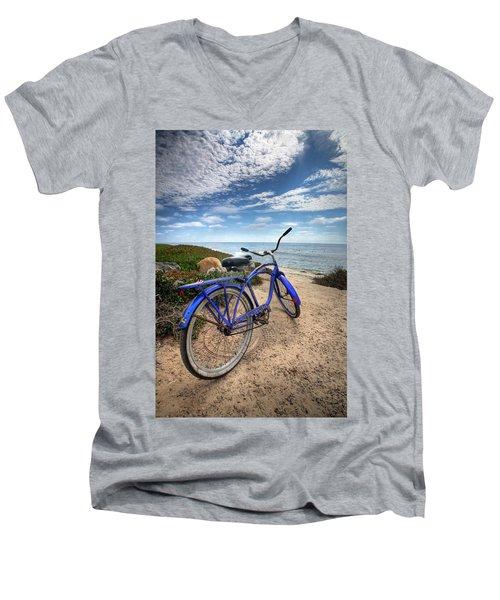Fat Tire Men's V-Neck T-Shirt