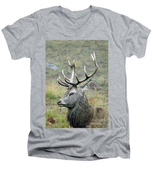 Stag Party The Series Father To Be. Men's V-Neck T-Shirt