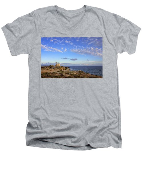 Favignana - Lighthouse Men's V-Neck T-Shirt