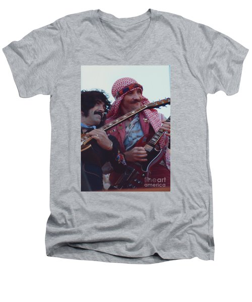 Favorite Of Manny Charlton And Zal Cleminson - Nazareth At Day On The Green 2 - 4th Of July 1979  Men's V-Neck T-Shirt