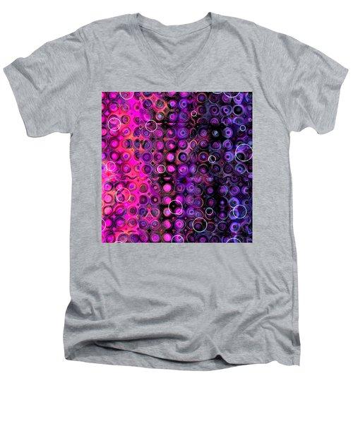 Favorite Old Quilt Men's V-Neck T-Shirt by Judi Suni Hall
