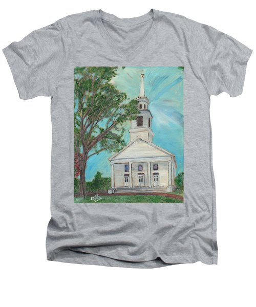 Federated Church Men's V-Neck T-Shirt