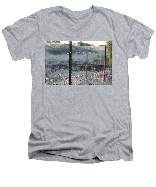 Fence Men's V-Neck T-Shirt