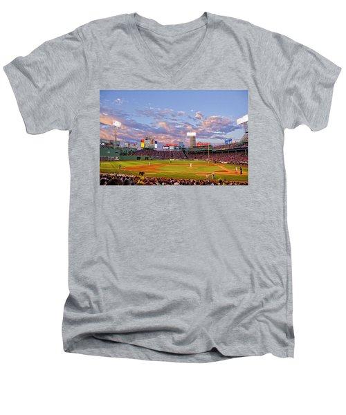 Fenway Night Men's V-Neck T-Shirt
