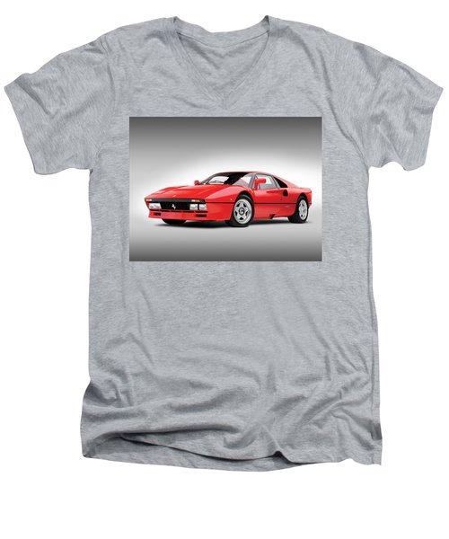 Ferrari 288 Gto Men's V-Neck T-Shirt by Gianfranco Weiss