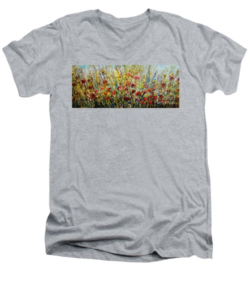 Fields Of Dreams Men's V-Neck T-Shirt