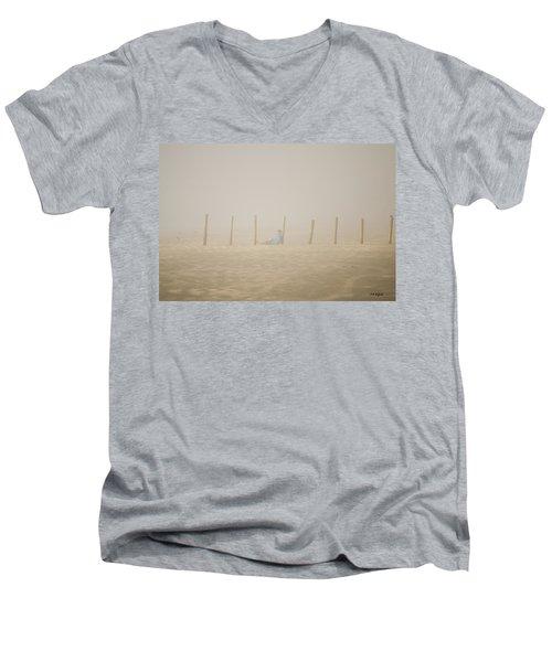 Figure In The Fog Men's V-Neck T-Shirt