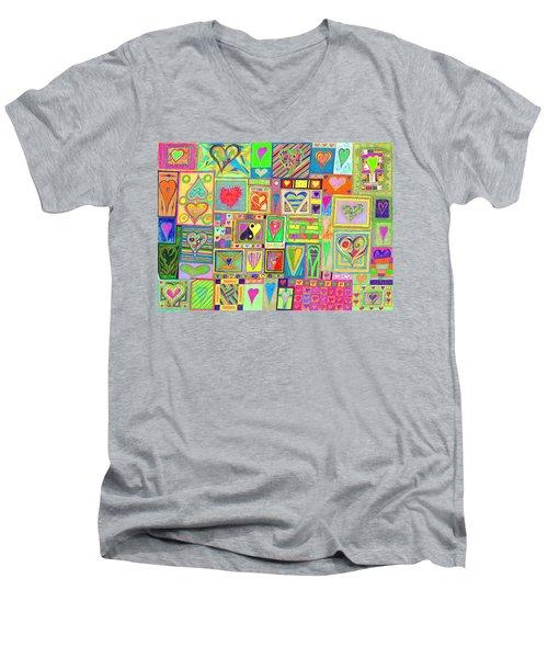 find U'r Love found   v20 Men's V-Neck T-Shirt