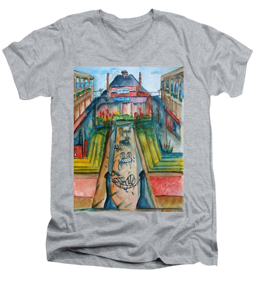 Findlay Market Men's V-Neck T-Shirt