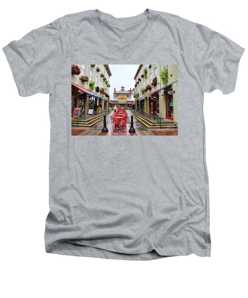 Findlay Market In Cincinnati 0003 Men's V-Neck T-Shirt