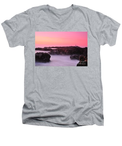 Fine Art Water 11 Men's V-Neck T-Shirt