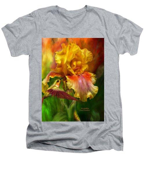 Fire Goddess Men's V-Neck T-Shirt