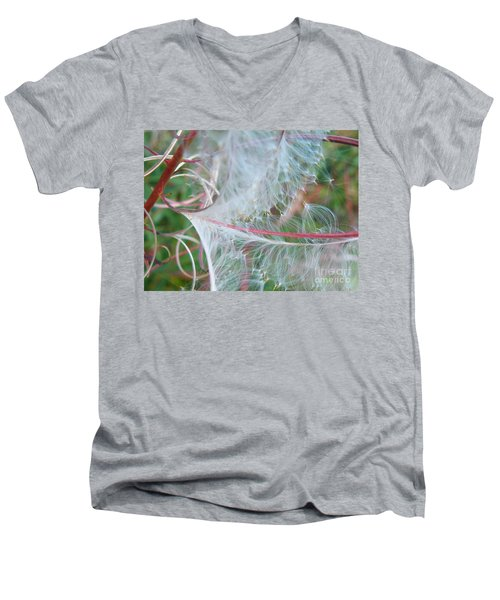 Fireweed Number One Men's V-Neck T-Shirt