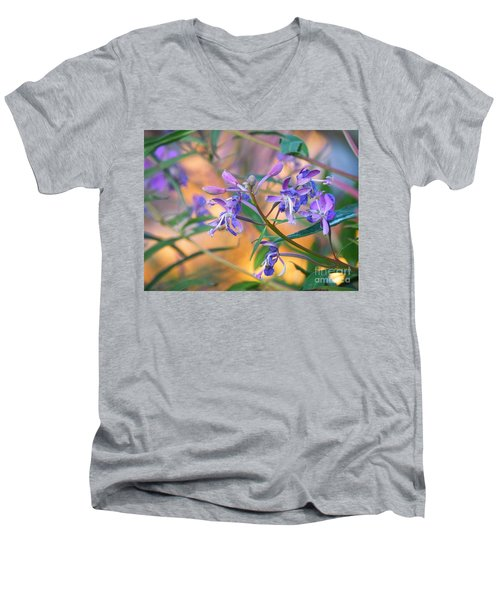 Fireweed Number Three Men's V-Neck T-Shirt