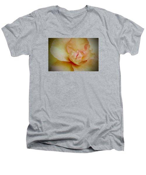 First Blush Men's V-Neck T-Shirt