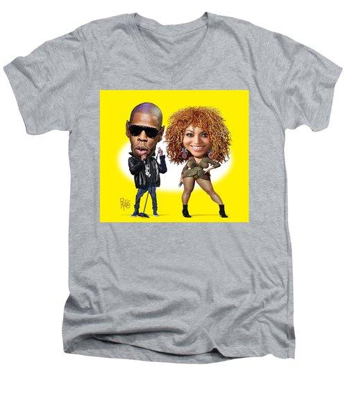 First Couple Men's V-Neck T-Shirt