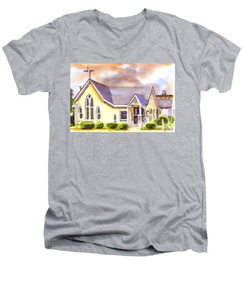 First Presbyterian Church Ironton Missouri Men's V-Neck T-Shirt