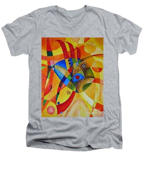 Fish 752 - Marucii Men's V-Neck T-Shirt