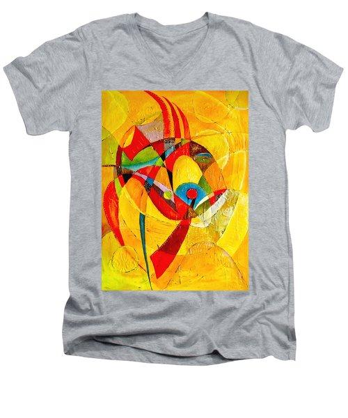 Fish II - Marucii Men's V-Neck T-Shirt