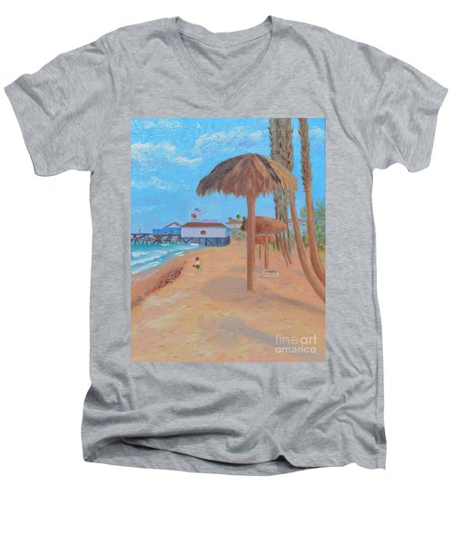 Fisherman's Resturant Men's V-Neck T-Shirt