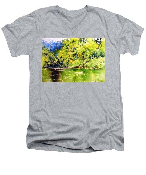 Fishing Pond Men's V-Neck T-Shirt