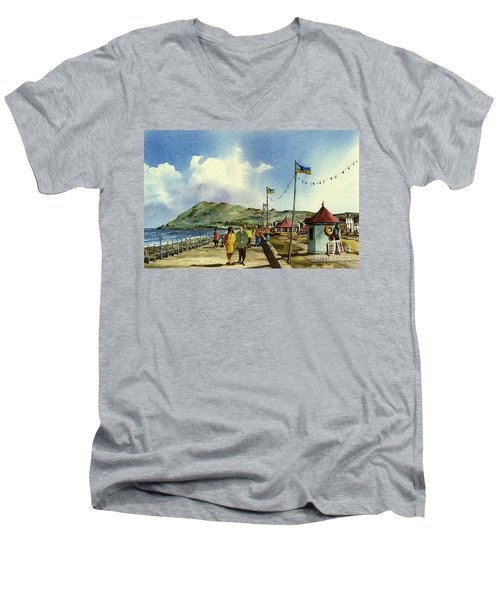 As I Walk Along The Promenade With An Independant Air  ....... Men's V-Neck T-Shirt