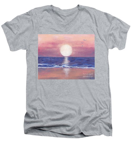 Flagler Beach Dream Men's V-Neck T-Shirt
