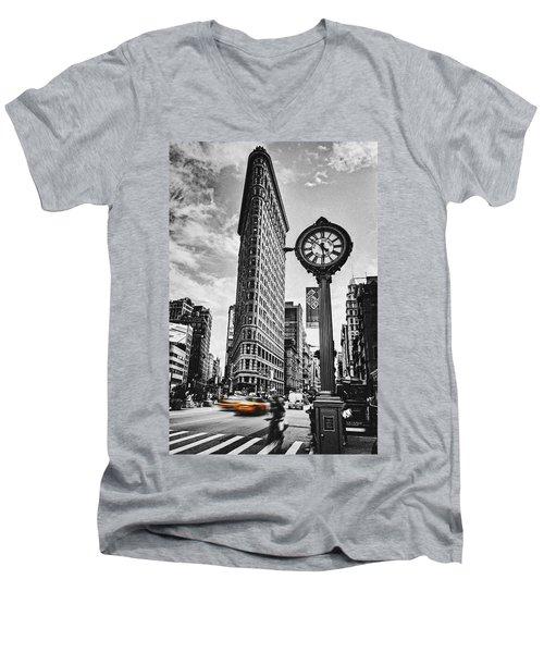 Flatiron Rush Men's V-Neck T-Shirt