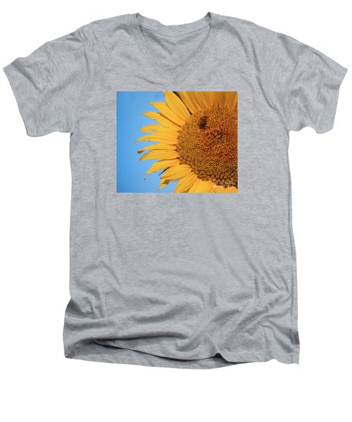 Men's V-Neck T-Shirt featuring the photograph Flawed Beauty by Rima Biswas