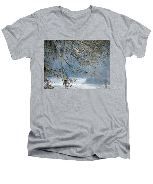 Flint River 29 Men's V-Neck T-Shirt