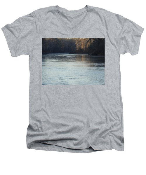 Flint River 31 Men's V-Neck T-Shirt
