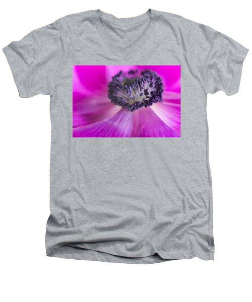 Floral Explosion Men's V-Neck T-Shirt