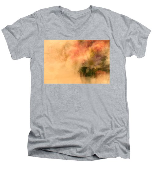 Floral Fantasy Men's V-Neck T-Shirt