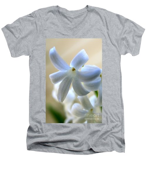 Floral Peace No.2 Men's V-Neck T-Shirt