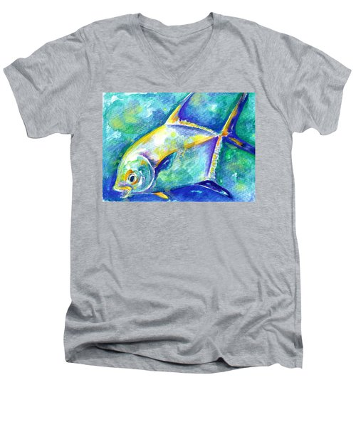 Florida Keys Permit Men's V-Neck T-Shirt