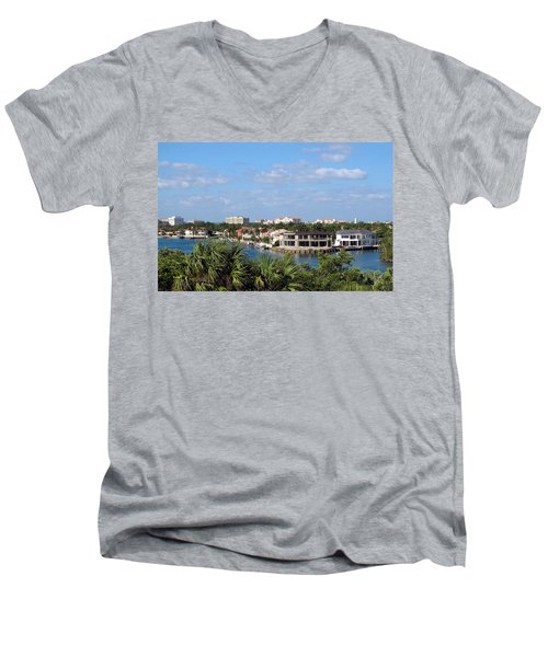 Florida Vacation Men's V-Neck T-Shirt