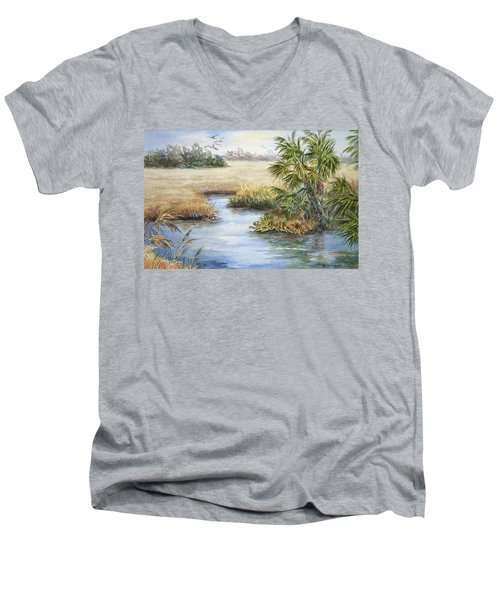 Florida Wilderness IIi Men's V-Neck T-Shirt