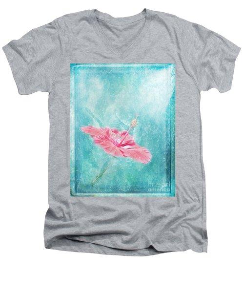 Flower Dancer Men's V-Neck T-Shirt
