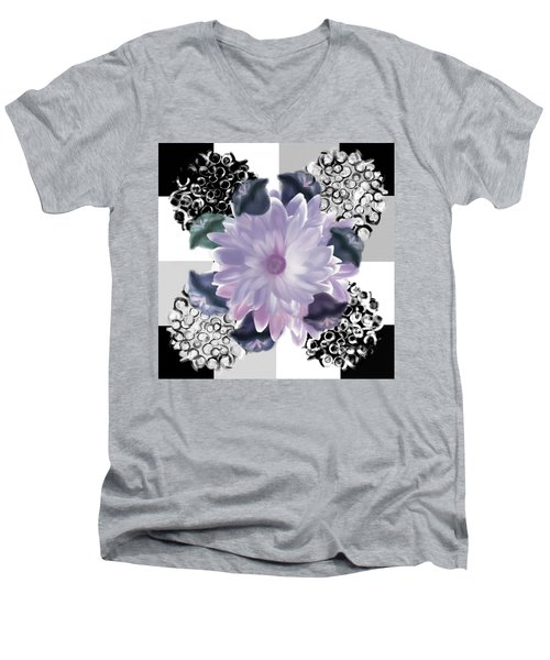 Flower Spreeze Men's V-Neck T-Shirt