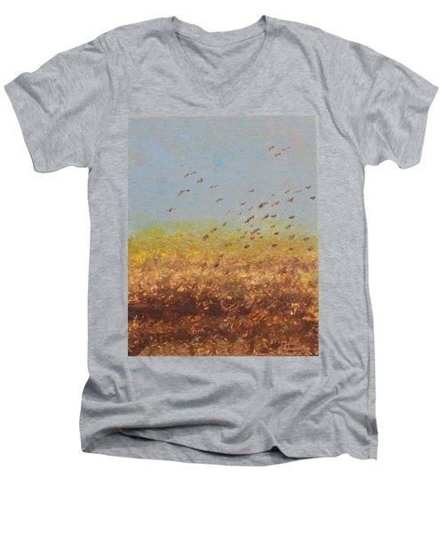 Fly Away Home Men's V-Neck T-Shirt