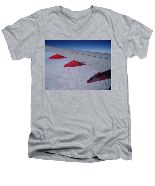Fly Away With Me Men's V-Neck T-Shirt