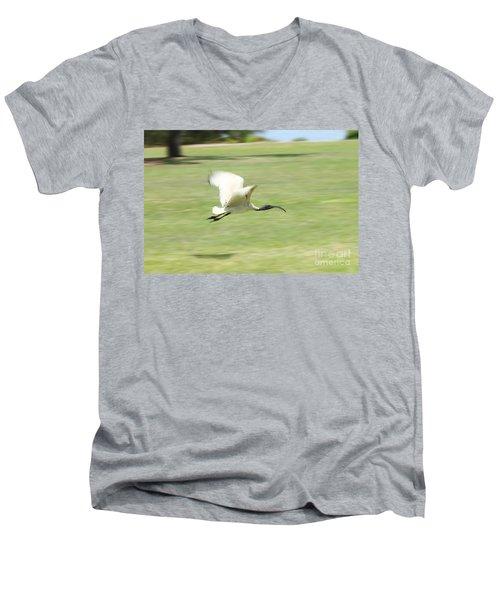 Flying Ibis Men's V-Neck T-Shirt